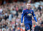 Manchester United's Wayne Rooney looks on dejected during the Premier League match at the Emirates Stadium, London. Picture date: May 7th, 2017. Pic credit should read: David Klein/Sportimage