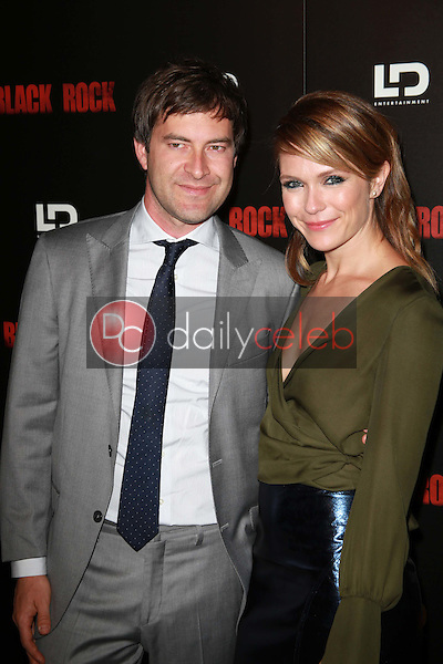 """Mark Duplass and Katie Aselton<br /> at the """"Black Rock"""" Los Angeles Special Screening, Arclight, Hollywood, CA 05-08-13<br /> David Edwards/Dailyceleb.com 818-249-4998"""