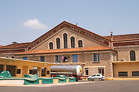The cave cooperative Les Coteaux de Saint Pargoire. St Pargoire. Languedoc. The winery building. France. Europe.