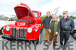 Timothy O'Connor (Castlemaine), Ger and John Nolan (Castleisland) admiring a 1951 Ford pick up tat the Blennerville Trashing Festival on Sunday.