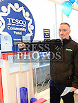 John Clarke pictured at the launch of the Tesco Blue Token campaign. Photo:Colin Bell/pressphotos.ie