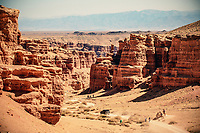 The Valley of Castles - Charyn Canyon
