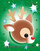 GIORDANO, CHRISTMAS ANIMALS, WEIHNACHTEN TIERE, NAVIDAD ANIMALES, paintings+++++,USGI2477,#XA# reindeers