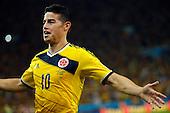 Colombia contra Uruguay en Río