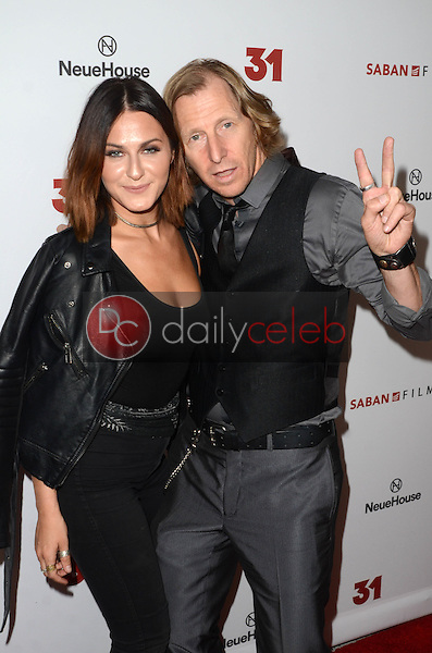 Scout Taylor-Compton, Lew Temple<br /> at a Special Screening of &ldquo;31,&quot; NeueHouse, Hollywood, CA 10-20-16<br /> David Edwards/DailyCeleb.com 818-249-4998