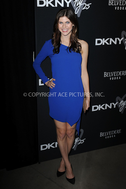 WWW.ACEPIXS.COM<br /> September 9, 2013 New York City<br /> <br /> Alexandra Daddario seen at the DKNY 25 Birthday Bash on September 9, 2013 in New York City.  <br /> <br /> By Line: Kristin Callahan/ACE Pictures<br /> ACE Pictures, Inc.<br /> tel: 646 769 0430<br /> Email: info@acepixs.com<br /> www.acepixs.com<br /> Copyright:<br /> Kristin Callahan/ACE Pictures