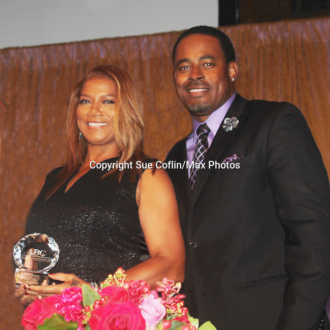 As The World Turns' Lamman Rucker is Master of Ceremonies at the 7th Annual Spirit of the Heart Awards - Dinner for the Association of Black Cardiologists honoring Queen Latifah and distinguished doctors on October 1, 2016 at Cipriani 42nd Street, New York City, New York. (Photo by Sue Coflin/Max Photos)