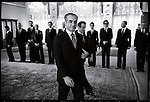 The Shah at Niavaran Palace at the presentation of his cabinet by the new Prime Minister Shapour Bakhtiar. Tehran, January 6, 1979.