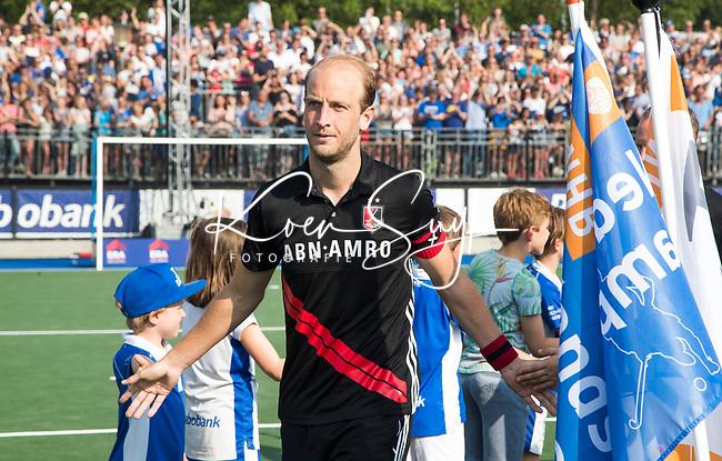 UTRECHT -  Teleurstelling bij Billy Bakker (A'dam)   na  de finale van de play-offs om de landtitel tussen de heren van Kampong en Amsterdam (3-1).    COPYRIGHT KOEN SUYK
