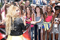 Demi Lovato at the X-Factor auditions in Kansas City, Missouri. June 8, 2012. Credit: MediaPunch Inc. ***NO GERMANY***NO AUSTRIA*** NORTEPHOTO.COM