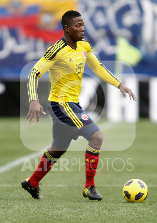 Colombia's national team Carlos Sanchez during international friendly. March 26, 2011. (ALTERPHOTOS/Alvaro Hernandez)