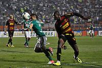 ATENÇÃO EDITOR: FOTO EMBARGADA PARA VEÍCULOS INTERNACIONAIS - SÃO PAULO, SP, 06 DE SETEMBRO DE 2012 - CAMPEONATO BRASILEIRO - PALMEIRAS x SPORT: Maikon Leite durante partida Palmeiras x Sport Recife, válida pela 22ª rodada do Campeonato Brasileiro no Estádio do Pacaembú. FOTO: LEVI BIANCO - BRAZIL PHOTO PRESS
