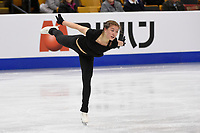 Tuesday, March 29, 2016: Yasmine Kimikoimiko Yamada of Switzerland skates during a practice session at the International Skating Union World Championship held at TD Garden, in Boston, Massachusetts. Eric Canha/CSM