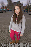 Local hero Clodagh Landy from Listowel who brought a bolted horse under control on the square earlier in December.