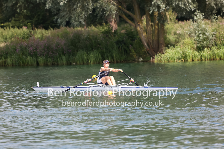 Race: 136: W Tier3 1x  Final<br /> <br /> Peterborough Summer Regatta 2017 - Sunday<br /> <br /> To purchase this photo, or to see pricing information for Prints and Downloads, click the blue 'Add to Cart' button at the top-right of the page.