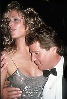 #FarrahFawcett #RyanO'Neil 1989<br /> Photo By Adam Scull/PHOTOlink.net