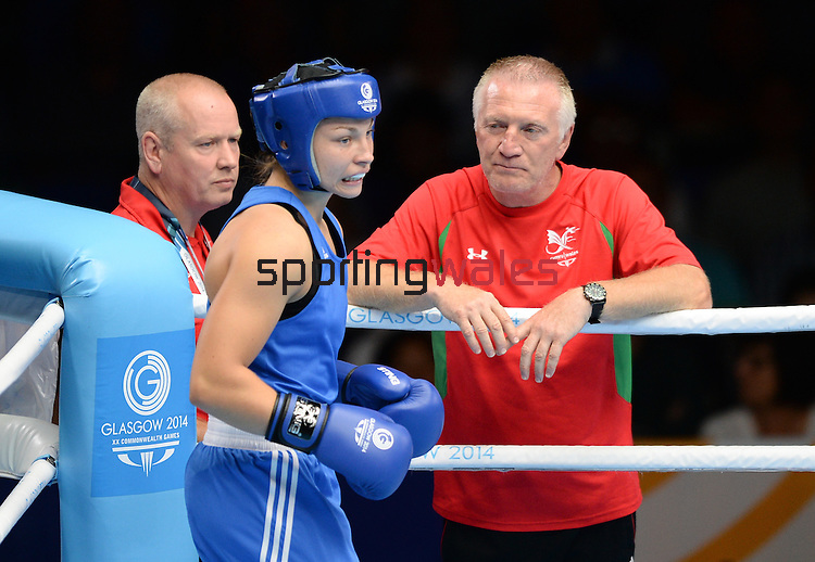 Photographer Ian Cook/Sportingwales<br /> <br /> 20th Commonwealth Games - Boxing-  Day 9 -  Friday 1st August 2014 - Glasgow - UK
