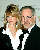 Washington, D.C. - December 2, 2006 -- Steven Spirlberg and Kate Capshaw arrives for the State Department Dinner for the 29th Kennedy Center Honors dinner at the Department of State in Washington, D.C. on Saturday evening, December 2, 2006.  Andrew Lloyd Webber, Zubin Mehta, Dolly Parton, Smokey Robinson and Stephen Spielberg are being honored in 2006 for their contribution to American culture..Credit: Ron Sachs / CNP