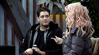 Jonny Mitchell and Courtney Act.<br /> Celebrity Big Brother 2018 - Day 7<br /> *Editorial Use Only*<br /> CAP/KFS<br /> Image supplied by Capital Pictures
