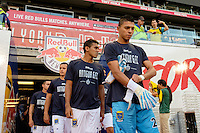 Harrison, NJ - Wednesday Aug. 03, 2016: Ivan Pacheco during a CONCACAF Champions League match between the New York Red Bulls and Antigua at Red Bull Arena.