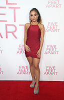 LOS ANGELES, CA - MARCH 7: Trina LaFargue, at The Premiere Of Lionsgate's &quot;Five Feet Apart&quot; at The Fox Bruin Theatre in Los Angeles, California on March 7, 2019. <br /> CAP/MPI/SAD<br /> &copy;SAD/MPI/Capital Pictures