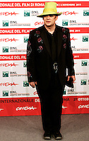 Il cantante inglese Boy George posa per un photocall al Festival Internazionale del Film di Roma, 27 ottobre 2011..British singer Boy George poses for a photocall during the international Rome Film Festival at Rome's Auditorium, 27 october 2011..UPDATE IMAGES PRESS/Riccardo De Luca