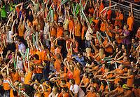 September 13, 2014, Netherlands, Amsterdam, Ziggo Dome, Davis Cup Netherlands-Croatia, Doubles, Dutch supporters<br /> Photo: Tennisimages/Henk Koster