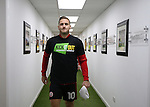 Billy Sharp of Sheffield Utd with KIO t-shirt during the English League One match at the Bramall Lane Stadium, Sheffield. Picture date: November 19th, 2016. Pic Simon Bellis/Sportimage