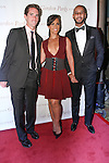 "(L-R) Executive Director of the the Gordon Parks Foundation, Peter W. Kunhardt Jr, Alicia Keys and her husband Kasseem ""Swizz Beatz"" Dean arrive at the Gordon Parks Foundation 2014 Award Dinner and Auction on June 3, 2014 at Cipriani Wall Street, located on 55 Wall Street."