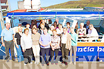 The Cahersiveen active retirement group got their sea legs tested on Thursday last, pictured here at the Cahersiveen Marina front l-r; Tommy O'Sullivan(Skipper-Valentia Harbour Tours), Catherine Cournane(Centre Manager),Josie Curran, Mary Annie Quill, Ann Casey, Theresa O'Neill,Babe O'Neill, Rose Dennehy, middle l-r; Michael Molloy, Nora Griffin, Mary Monaghan, Tess Sugrue, Mary Griffin, Mary Daly, Pauline Reidy, Noleen Molloy, Eileen Cournane, Donal &  Maureen O'Sullivan, back l-r; Maggie & Theresa Williamson, Theresa Walsh & Tadg O'Sullivan.