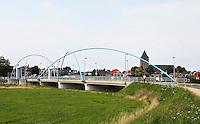 Blauwe Bogenbrug over de Vecht bij Dalfsen