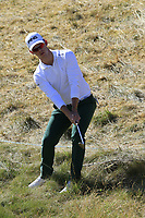Brandon Stone (RSA) chips the rough at the 2nd green during Friday's Round 2 of the 2018 Dubai Duty Free Irish Open, held at Ballyliffin Golf Club, Ireland. 6th July 2018.<br /> Picture: Eoin Clarke | Golffile<br /> <br /> <br /> All photos usage must carry mandatory copyright credit (&copy; Golffile | Eoin Clarke)