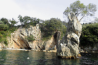 - the coast between Lerici and Tellaro....- la costa fra Lerici e Tellaro