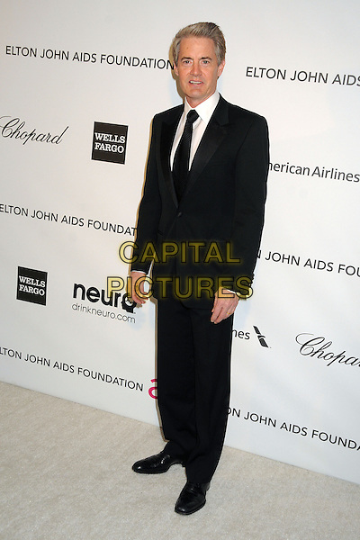 Kyle MacLachlan.21st Annual Elton John Academy Awards Viewing Party held at West Hollywood Park, West Hollywood, California, USA..February 24th, 2013.oscars full length black suit white shirt .CAP/ADM/BP.©Byron Purvis/AdMedia/Capital Pictures.