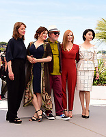 www.acepixs.com<br /> <br /> May 17 2017, Cannes<br /> <br /> Maren Ade, Agnes Jaoui, President of the jury Pedro Almodovar, jury members Jessica Chastain and Fan Bingbing at a photocall for Jury members during the 70th annual Cannes Film Festival at Palais des Festivals on May 17, 2017 in Cannes, France.<br /> <br /> By Line: Famous/ACE Pictures<br /> <br /> <br /> ACE Pictures Inc<br /> Tel: 6467670430<br /> Email: info@acepixs.com<br /> www.acepixs.com