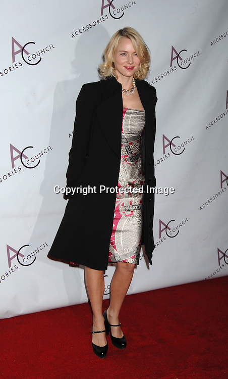 Naomi Watts..arriving at The Accessories Council 10th Annual ACE Awards on October 30, 2006 at Cipriani 42nd Street. ..Robin Platzer, Twin Images