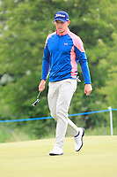 Grant Forrest (SCO) on the 4th green during Round 2 of the Betfred British Masters 2019 at Hillside Golf Club, Southport, Lancashire, England. 10/05/19<br /> <br /> Picture: Thos Caffrey / Golffile<br /> <br /> All photos usage must carry mandatory copyright credit (&copy; Golffile | Thos Caffrey)