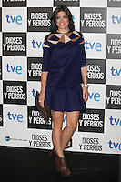 Jimena Mazucco poses at `Dioses y perros´ film premiere photocall in Madrid, Spain. October 07, 2014. (ALTERPHOTOS/Victor Blanco) /nortephoto.com