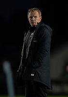Saracens' Head Coach Mark McCall <br /> <br /> Photographer Bob Bradford/CameraSport<br /> <br /> Gallagher Premiership - Harlequins v Saracens - Saturday 6th October 2018 - Twickenham Stoop - London<br /> <br /> World Copyright © 2018 CameraSport. All rights reserved. 43 Linden Ave. Countesthorpe. Leicester. England. LE8 5PG - Tel: +44 (0) 116 277 4147 - admin@camerasport.com - www.camerasport.com