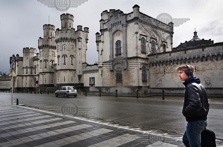 St Gilles prison in Brussels.