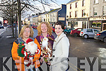 Pictured getting ready for the Christmas Market taking place on the 8th December, in the 'Carry Out' car park: Grainne Casey, Alice King and Fiona O'Connor .