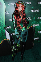 WEST HOLLYWOOD, CA - OCTOBER 29: Shenae Grimes at 3rd Annual Midori Green Halloween Party held at Bootsy Bellows on October 29, 2013 in West Hollywood, California. (Photo by Xavier Collin/Celebrity Monitor)