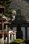 Canarian town of Teror in the mountains of Gran Canaria, Canary Islands, Spain.