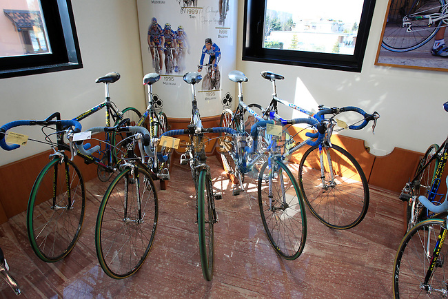 The Colnago Museum and factory in Cambiago on the outskirts of Milan, Italy,15th March 2013. (Photo Eoin Clarke/www.newsfile.ie)