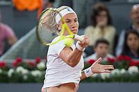 Svetlana Kuznetsova during the match of the Charity day previus at Madrid Open Tenis 2017in  Madrid, Spain. May 04, 2017. (ALTERPHOTOS/Rodrigo Jimenez) /NORTEPHOTO.COM
