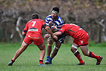 NELSON, NEW ZEALAND - Division 2 Rugby - Riwaka v Stoke. Cooks Reserve, Motueka, New Zealand. Saturday 4 July 2020. (Photo by Chris Symes/Shuttersport Limited)