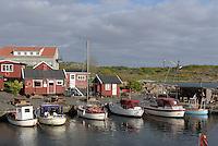 Hafen von Sandvig auf der Insel Bornholm, D&auml;nemark, Europa<br /> Port of Sandvig, Isle of Bornholm, Denmark