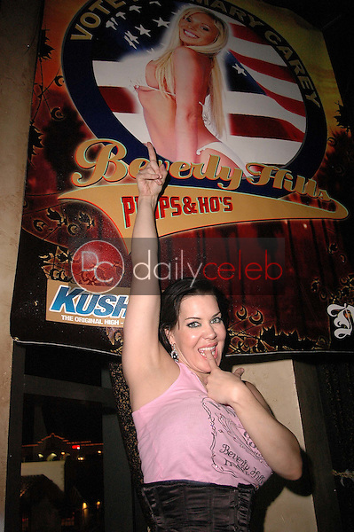 Joanie Laurer<br /> at a &quot;Mary Carey For Governor&quot; Party, Sponsored by &quot;Beverly Hills Pimps &amp; Hos&quot; clothing, Sutra Lounge, Costa Mesa, CA 06-30-06 EXCLUSIVE<br /> Dave Edwards/DailyCeleb.com 818-249-4998