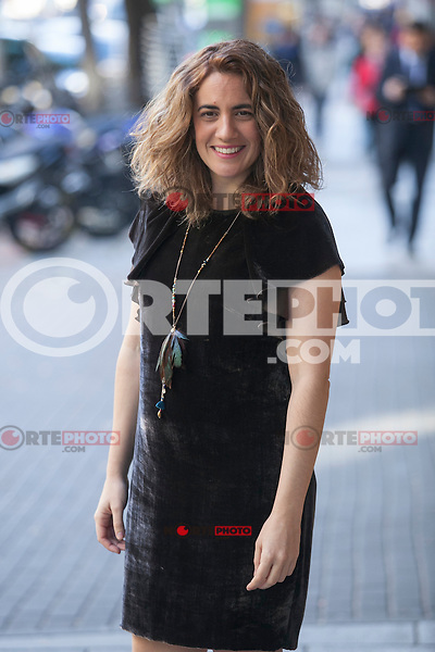 Movie director Lara Izagirre poses during `Un otono sin Berlin´ film presentation in Madrid, Spain. November 10, 2015. (ALTERPHOTOS/Victor Blanco)