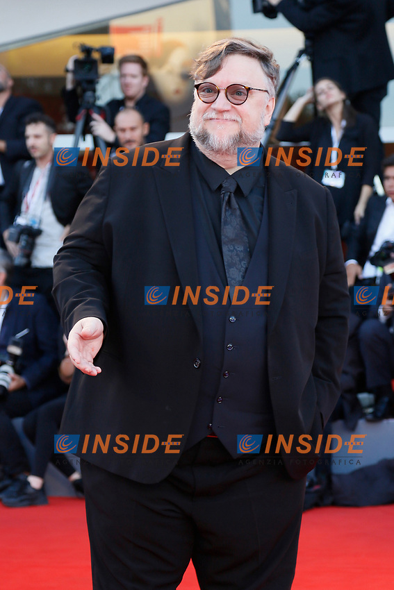 VENICE - September 8: Guillermo del Toro on September 8, 2018 in Venice, Italy.(By Mark Cape/Insidefoto)